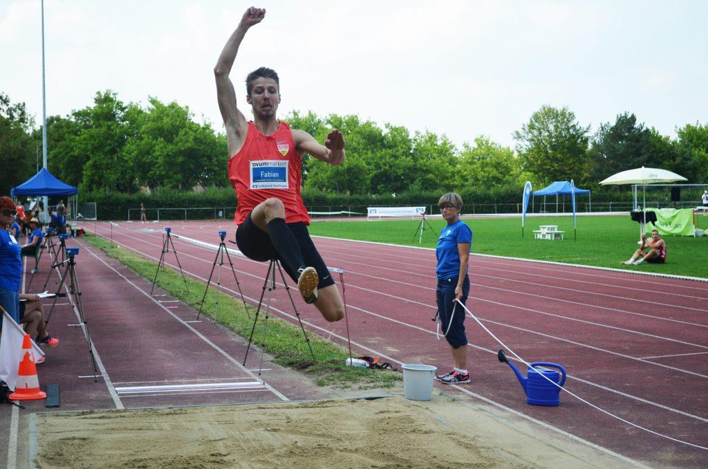 VfL Pfullingen Leichtathletik Fabian Heinle